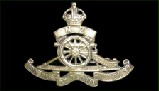 Badge of the Royal New Zealand Artillery. Motto: Quo fas et glory ducunt (Where fate and glory lead). - Click to see an enlarged shot of it on the Soldiers and Workers Page